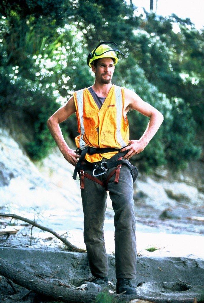 Matt Baird of Auckland Tree Masters